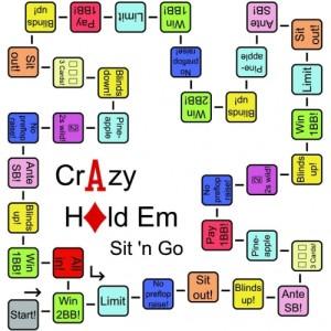 brettspiel crazy hold em sit`n go