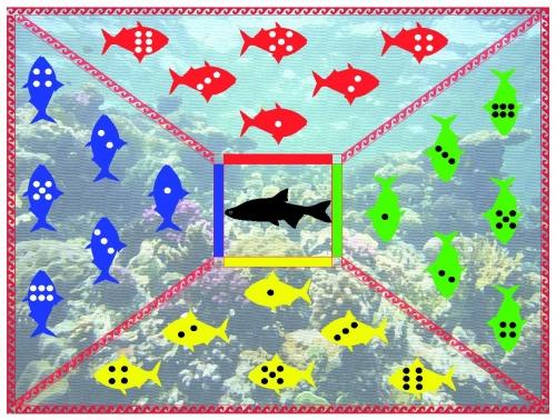 Brettspiel für Senioren: Frische Fische fischen
