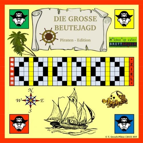 Die große Beutejagd Piratenedition