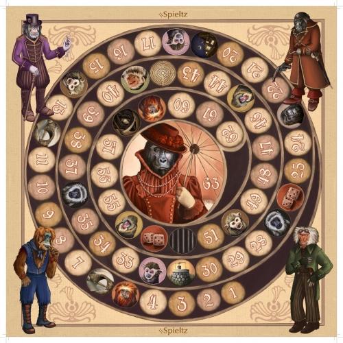Das Affenspiel – Spieltz