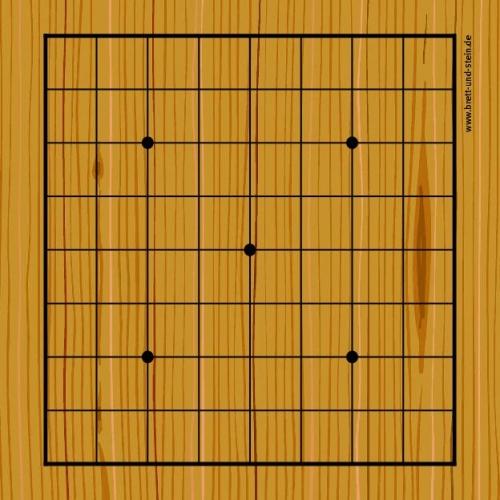 Go Spielplan Spielbrett 9×9 Holz-Optik