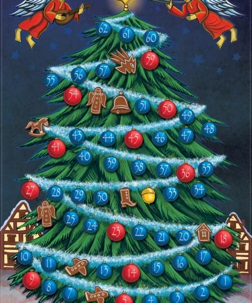 """Weihnachtsspiel """"O Tannenbaum"""" von Spieltz"""