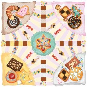 Brettspiel Keksdiebe, das Spiel für Weihnachten und Winterabende